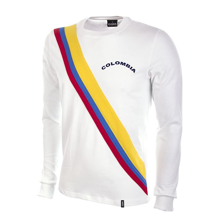 586 | Colombia 1973 Long Sleeve Retro Football Shirt | 1 | COPA