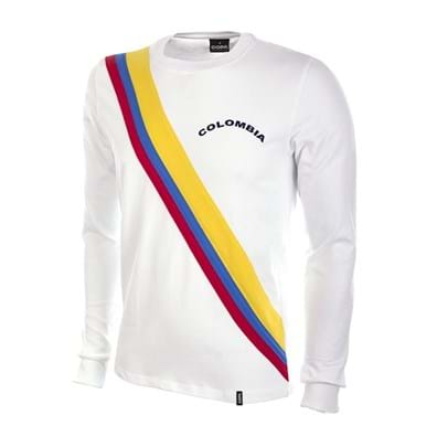 586 | Colombia 1973 Retro Football Shirt | 1 | COPA