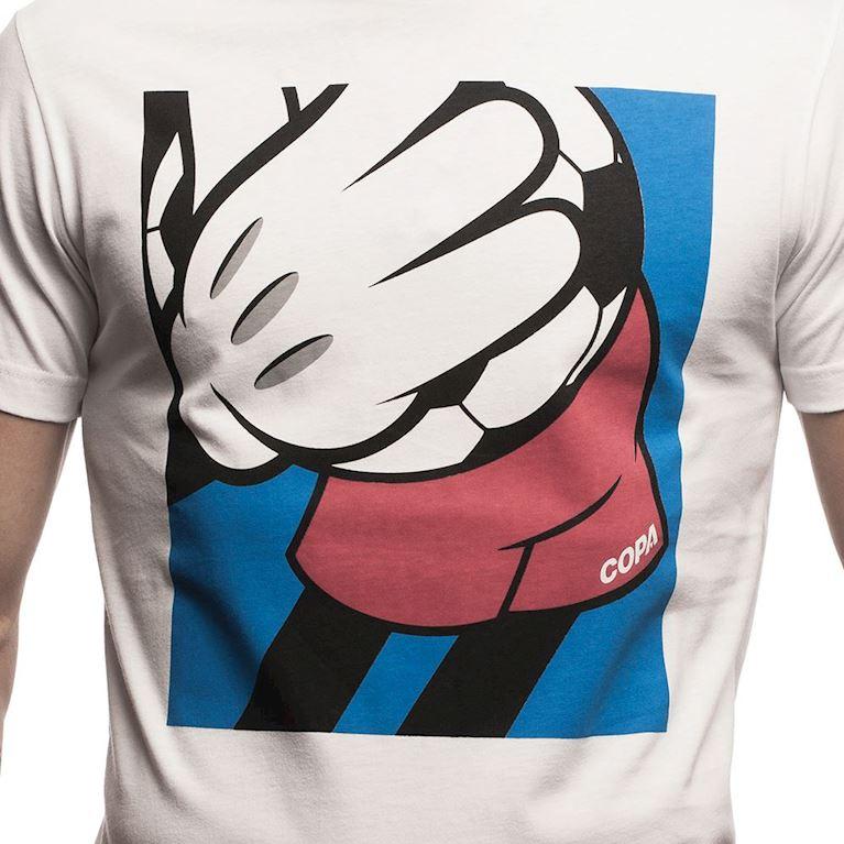 6639 | Comic Match T-Shirt | White | 2 | COPA