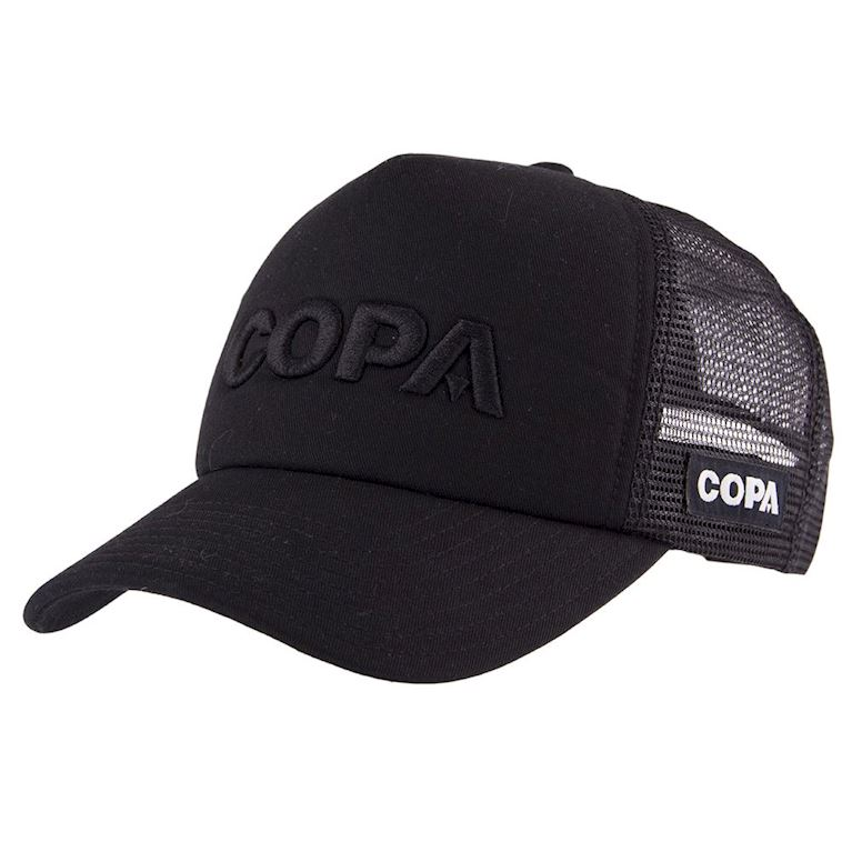 5207 | COPA 3D Black Logo Trucker Cap | 1 | COPA