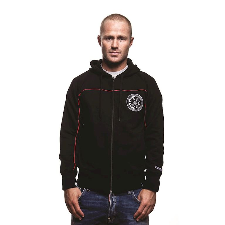 6421 | COPA Calcistica Zip Hooded Sweater | Black  | 1 | COPA