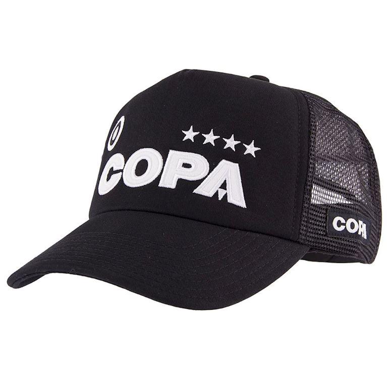 5205 | COPA Campioni Black Trucker Cap | 1 | COPA