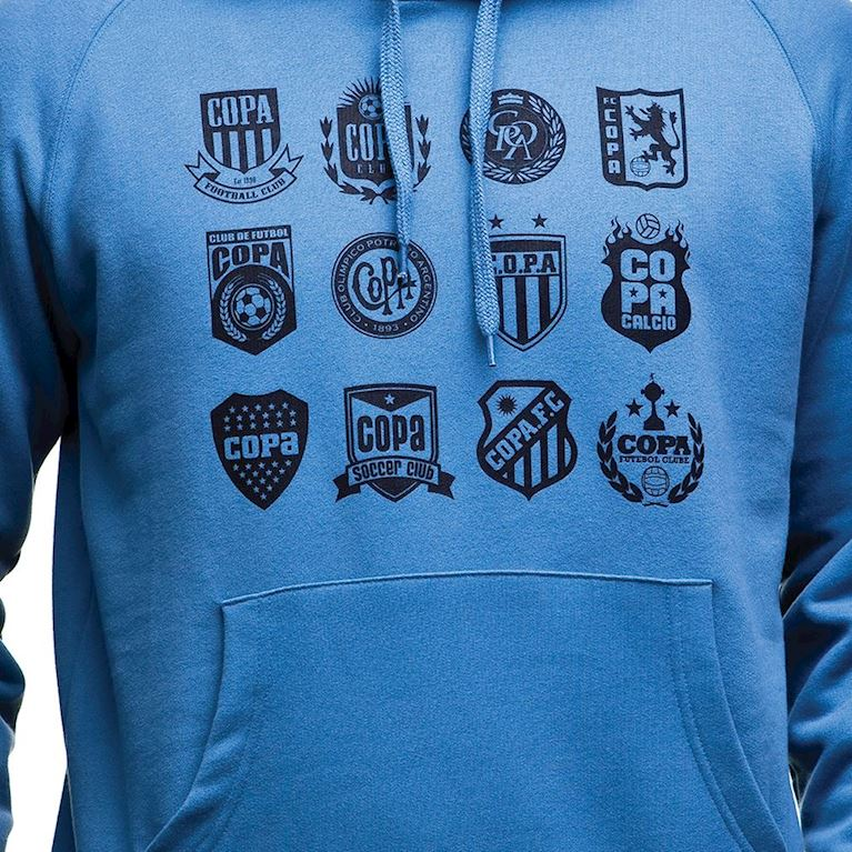 6431   COPA Crests Hooded Sweater   Faded Blue   2   COPA