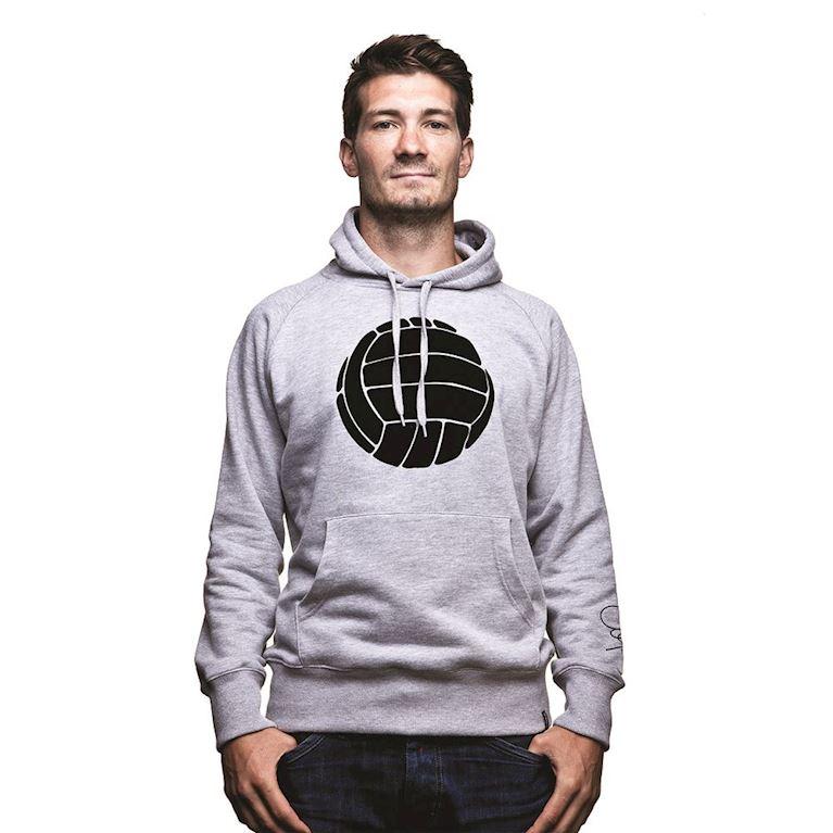 6432 | COPA Le Ballon Hooded Sweater | Grey Mêlée | 1 | COPA
