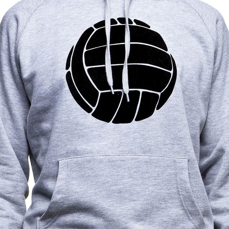 6432   COPA Le Ballon Hooded Sweater   Grey Mêlée   2   COPA