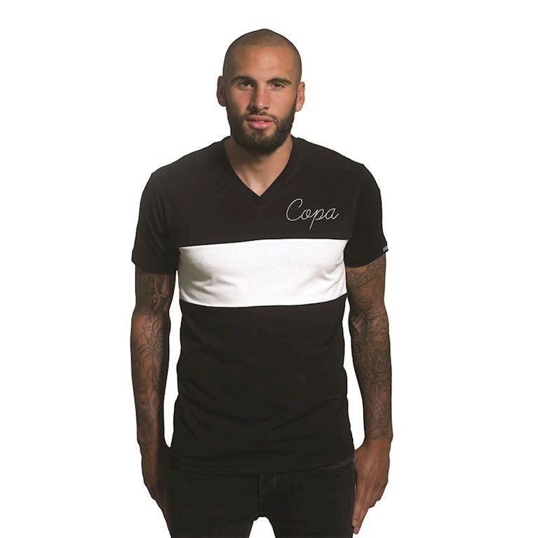 6662 | COPA Signature V-Neck T-Shirt | Black | 1 | COPA