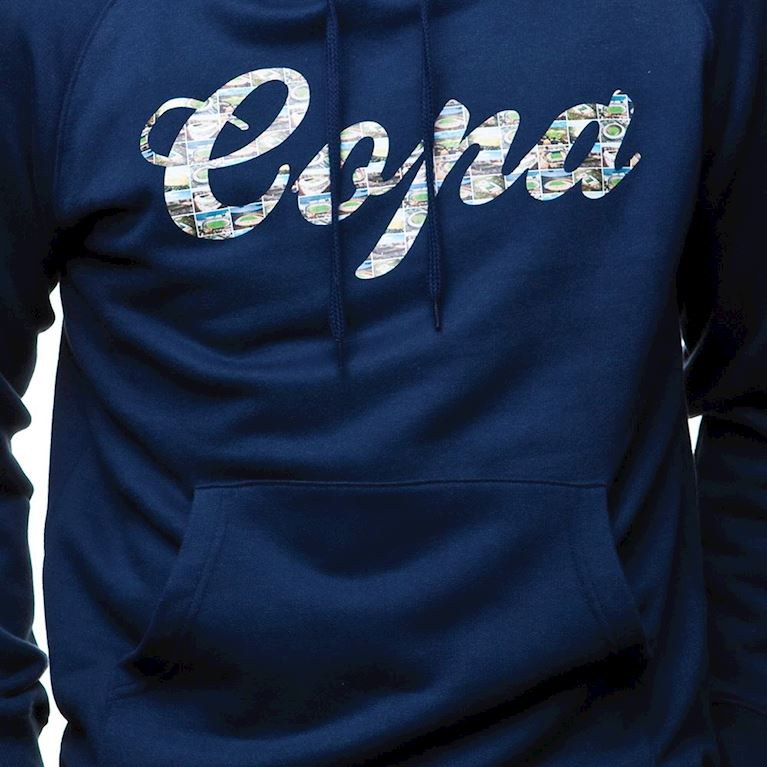 6433 | COPA Stadium Hooded Sweater | Marine Blue  | 2 | COPA