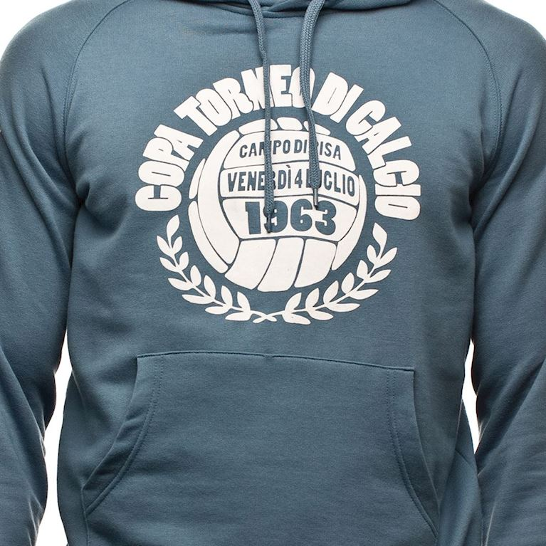 6427 | COPA Torneo Di Calcio Hooded Sweater | Faded Blue  | 2 | COPA