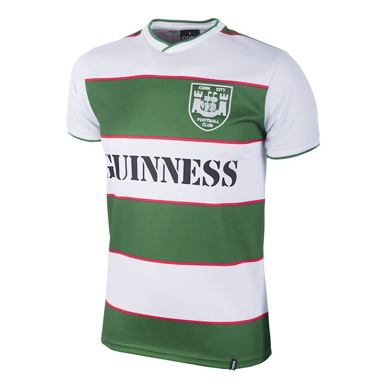 772 | Cork City FC 1984 Short Sleeve Retro Football Shirt | 1 | COPA