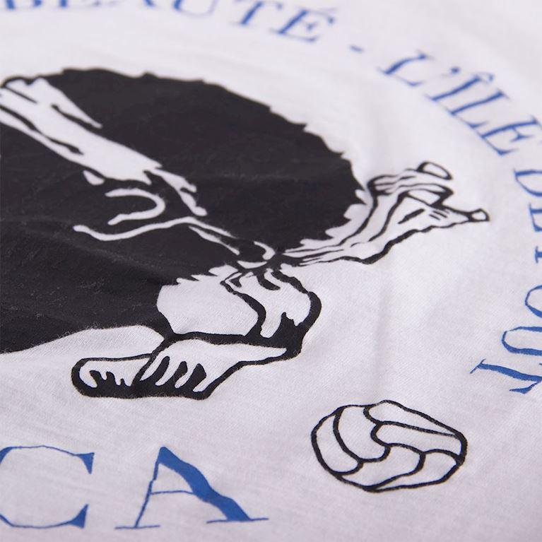 6711 | Corsica Vintage V-Neck T-Shirt | White | 2 | COPA