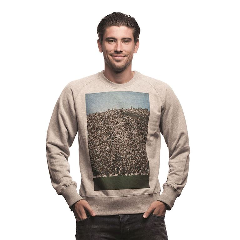 6441 | Crowd Sweater | Grey Mêlée | 1 | COPA