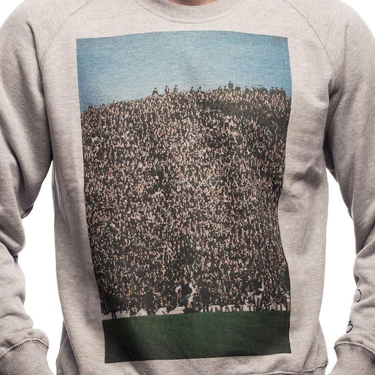 6441 | Crowd Sweater | Grey Mêlée | 2 | COPA