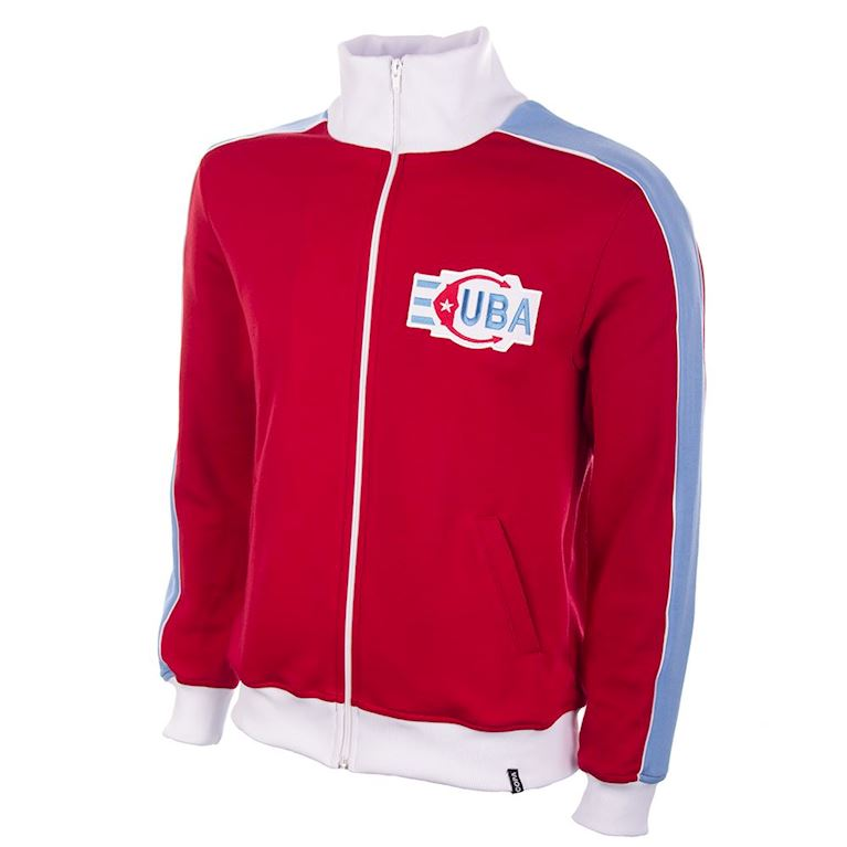 837 | Cuba 1980's Retro Football Jacket | 1 | COPA