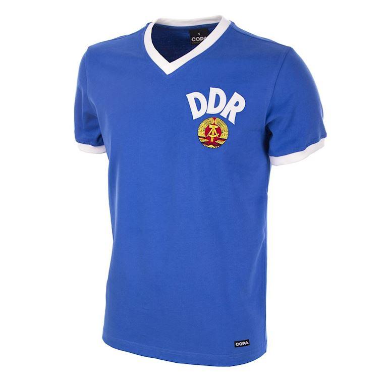 623   DDR World Cup 1974 Short Sleeve Retro Football Shirt   1   COPA