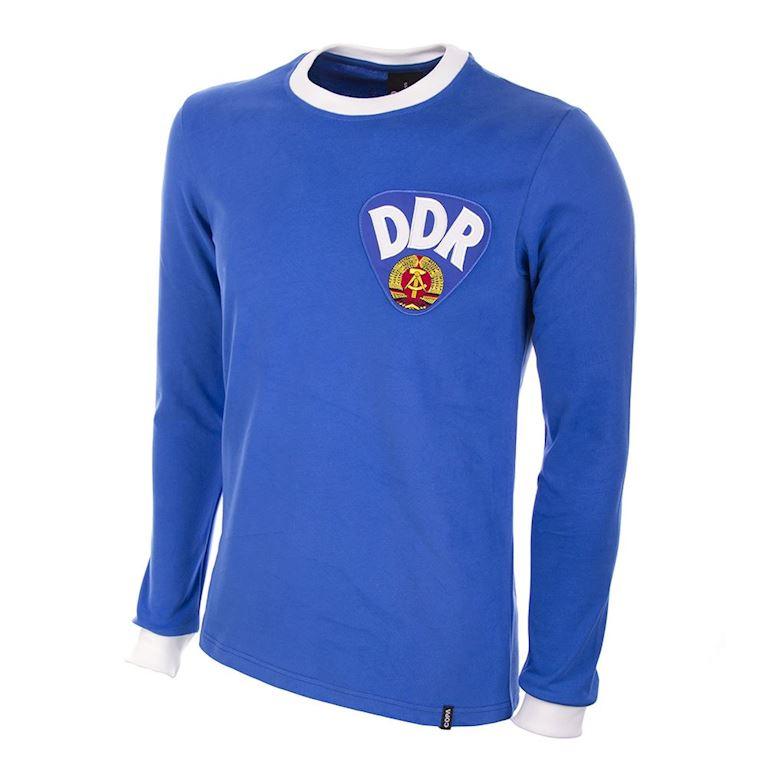 625   DDR 1970's Long Sleeve Retro Football Shirt   1   COPA