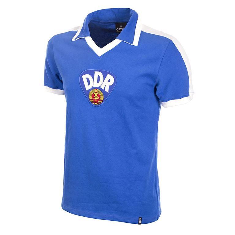 627   DDR 1967 Short Sleeve Retro Football Shirt   1   COPA