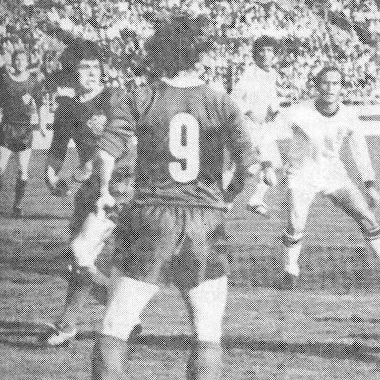 625   DDR 1970's Long Sleeve Retro Football Shirt   2   COPA