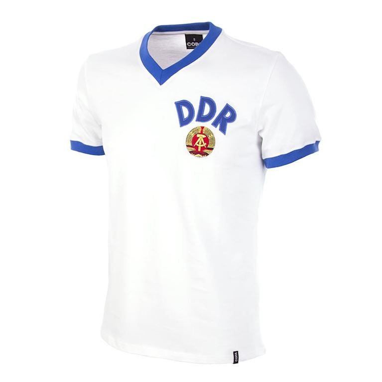 624 | DDR Away World Cup 1974 Maillot de Foot Rétro | 1 | COPA