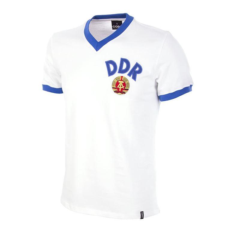 624   DDR Away World Cup 1974 Short Sleeve Retro Football Shirt   1   COPA