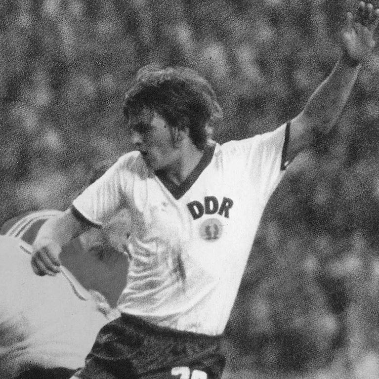 624   DDR Away World Cup 1974 Short Sleeve Retro Football Shirt   2   COPA