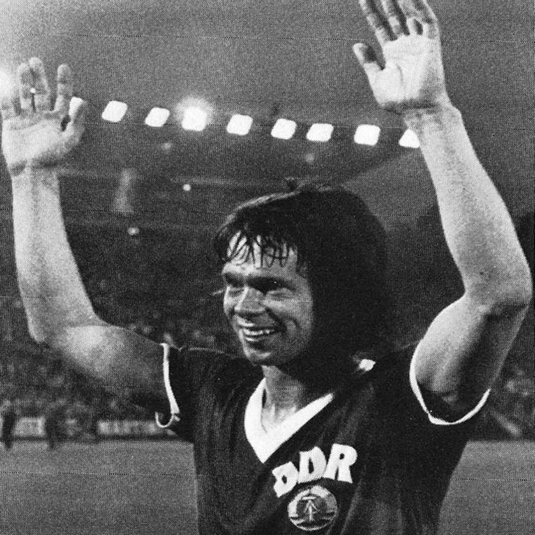 623   DDR World Cup 1974 Short Sleeve Retro Football Shirt   2   COPA