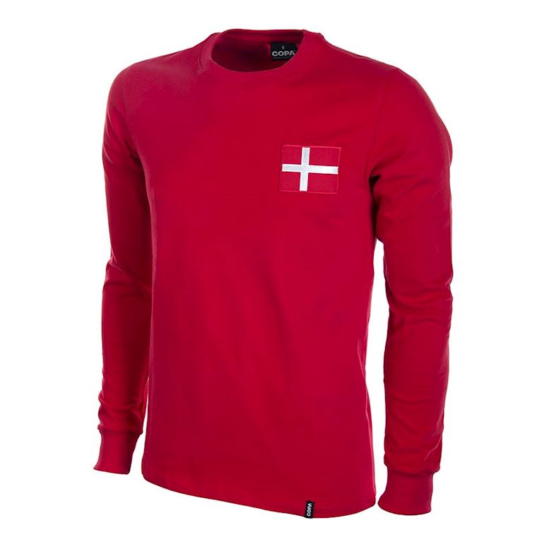 642 | Denmark 1970's Long Sleeve Retro Football Shirt  | 1 | COPA