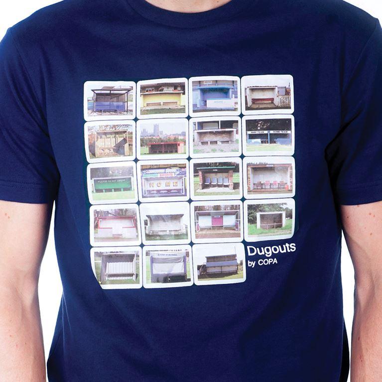 6695   Dugouts T-Shirt   Marine Blue   2   COPA