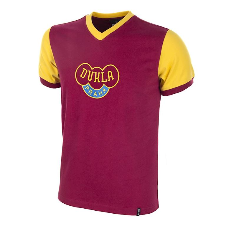 658 | Dukla Prague 1960's Retro Football Shirt | 1 | COPA