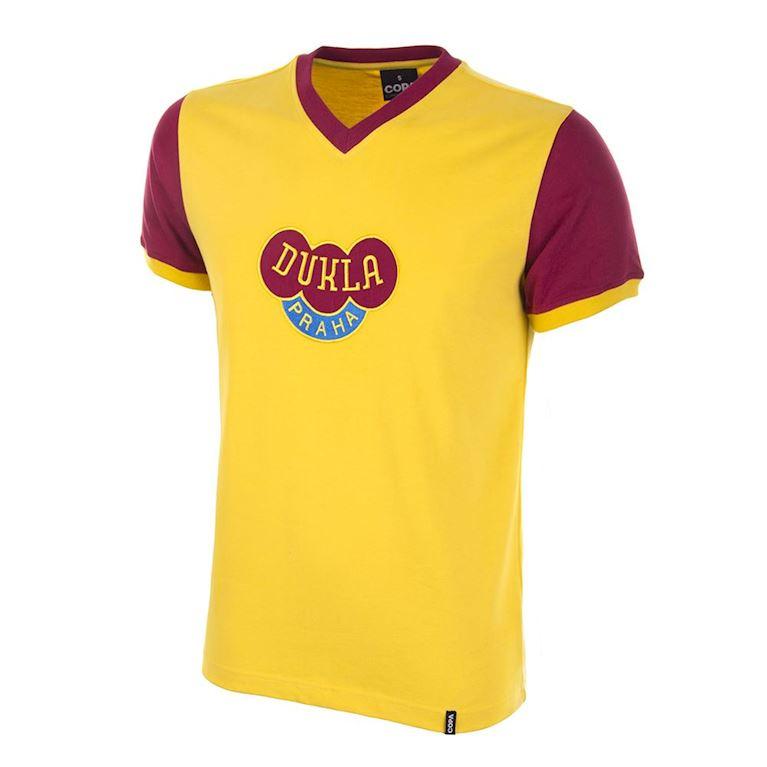 659 | Dukla Prague Away 1960's Short Sleeve Retro Football Shirt | 1 | COPA