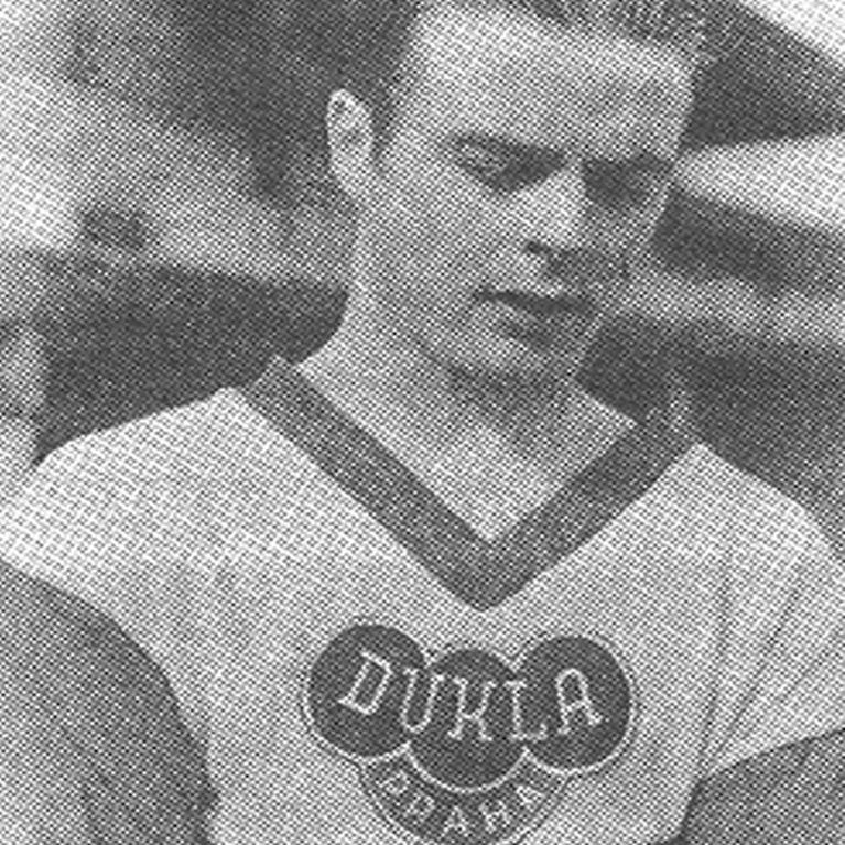 659 | Dukla Prague Away 1960's Short Sleeve Retro Football Shirt | 2 | COPA