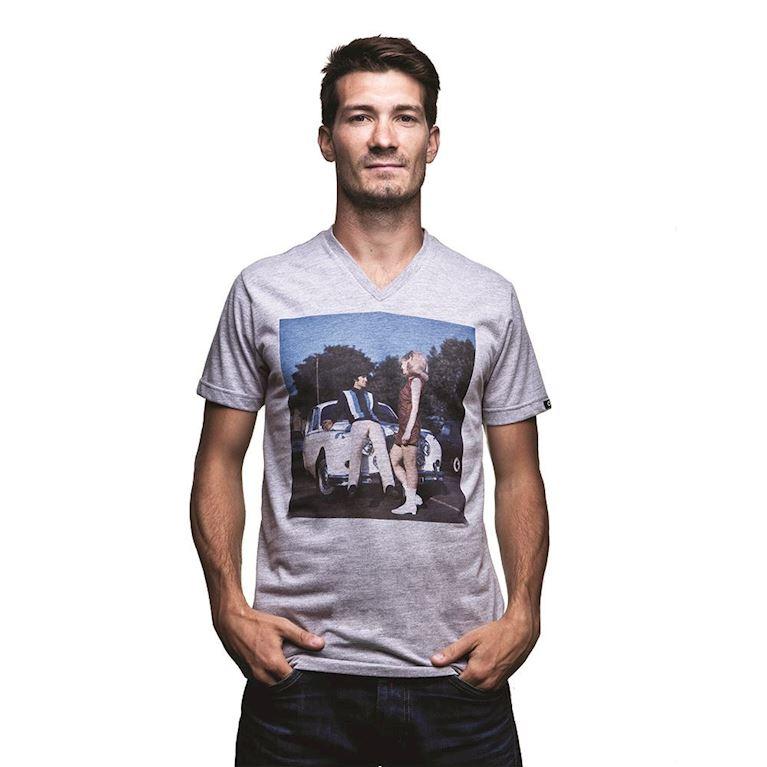 6598 | El Beatle V-Neck T-Shirt | Grey Mêlée | 1 | COPA