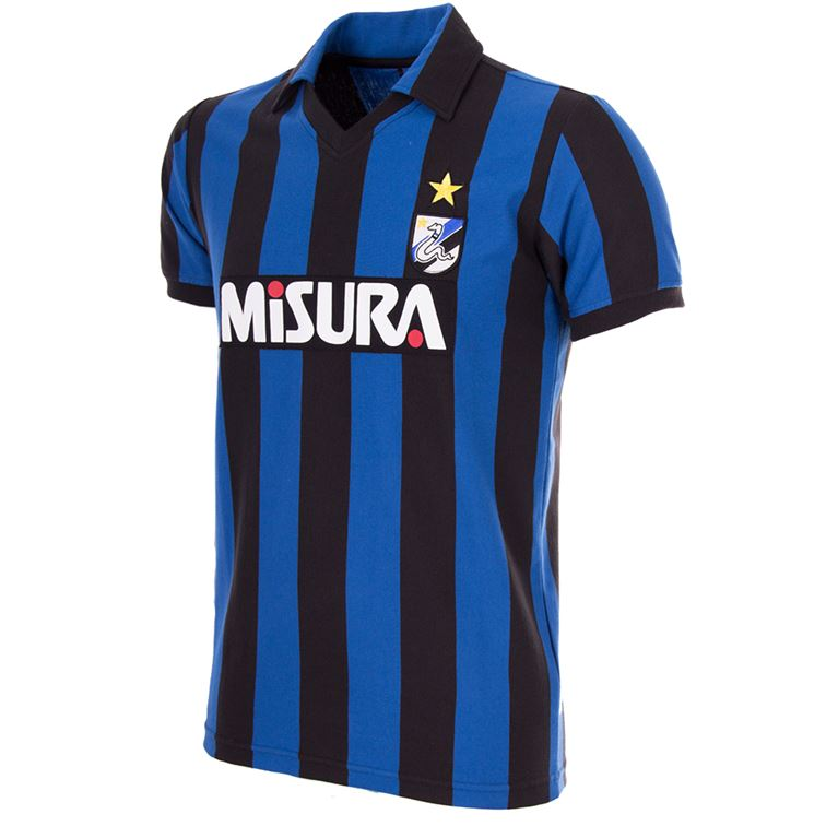 710 | F.C. Internazionale 1986 - 87 Short Sleeve Retro Football Shirt | 1 | COPA