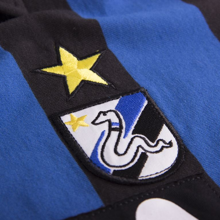 710 | F.C. Internazionale 1986 - 87 Short Sleeve Retro Football Shirt | 2 | COPA
