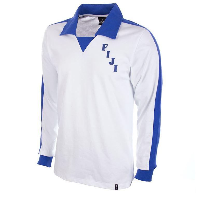 584 | Fiji 1980's Long Sleeve Retro Football Shirt | 1 | COPA