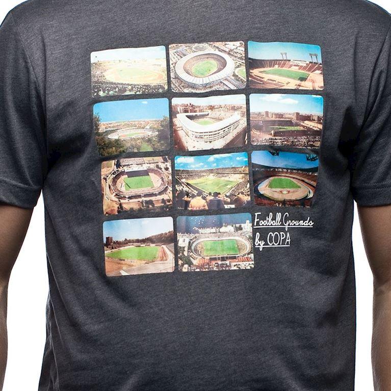6570 | Football Grounds T-Shirt | Dark Grey Mêlée | 2 | COPA