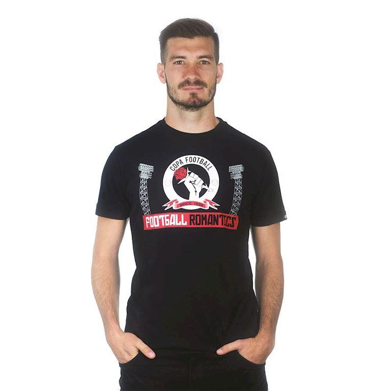 6667 | Football Romantics T-Shirt | Black | 1 | COPA