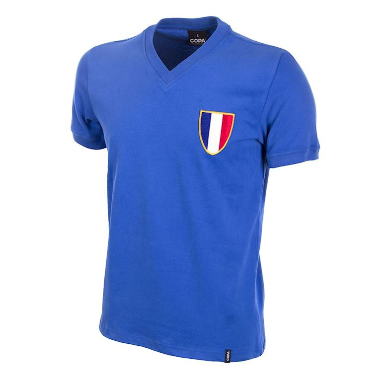 568 | France 1968 Olympics Short Sleeve Retro Football Shirt | 1 | COPA