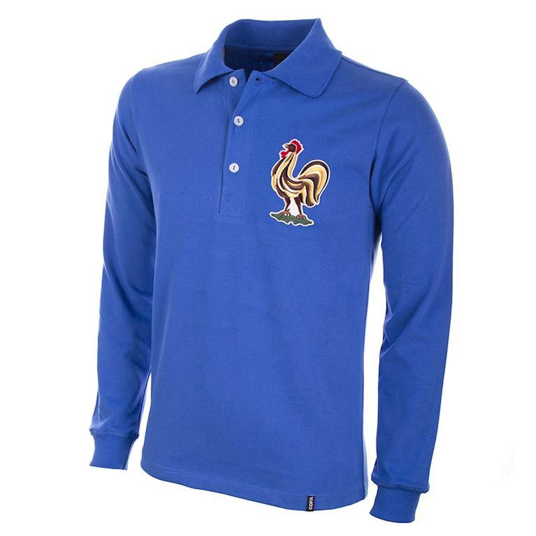 652 | Frankrijk 1950's Retro Voetbal Shirt | 1 | COPA