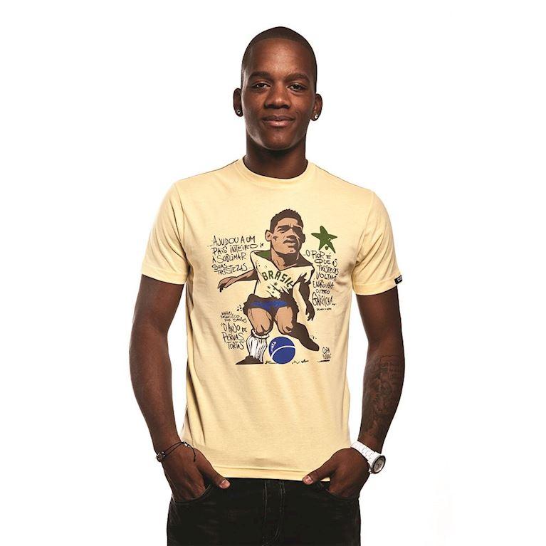 6397 | Garrincha T-Shirt | Yellow | 1 | COPA