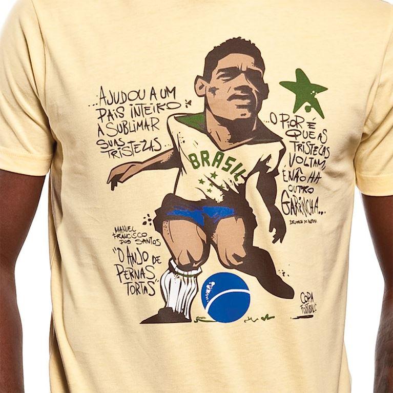 6397 | Garrincha T-Shirt | Yellow | 2 | COPA