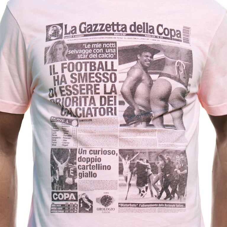 6363 | Gazzetta della COPA T-Shirt | Pink | 2 | COPA