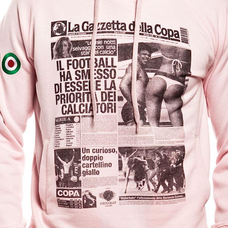 6419 | Gazzetta della COPA Hooded Sweater | Pink | 2 | COPA