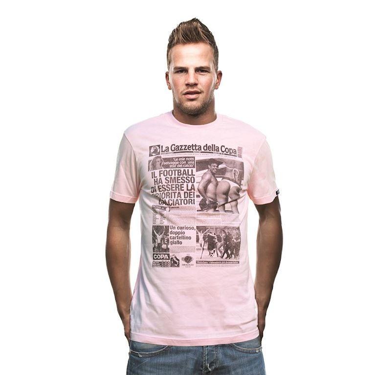 6363 | Gazzetta della COPA T-Shirt | Pink | 1 | COPA