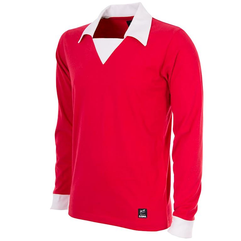 750 | George Best Man. Utd. 1970´s Long Sleeve Retro Football Shirt | 1 | COPA