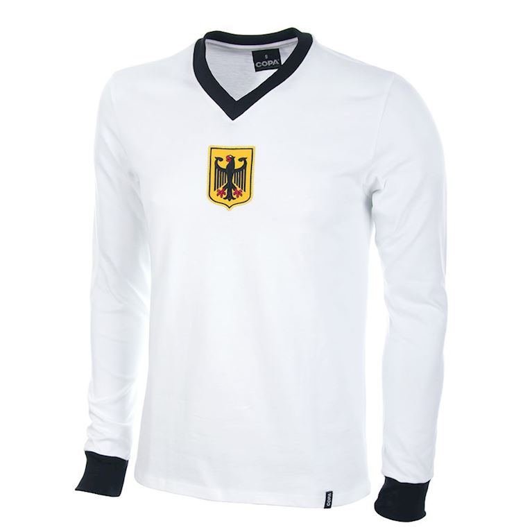630 | Germany 1970's Long Sleeve Retro Football Shirt | 1 | COPA