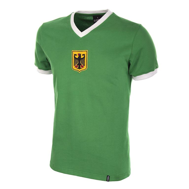 631 | Germany Away 1970's Short Sleeve Retro Football Shirt  | 1 | COPA