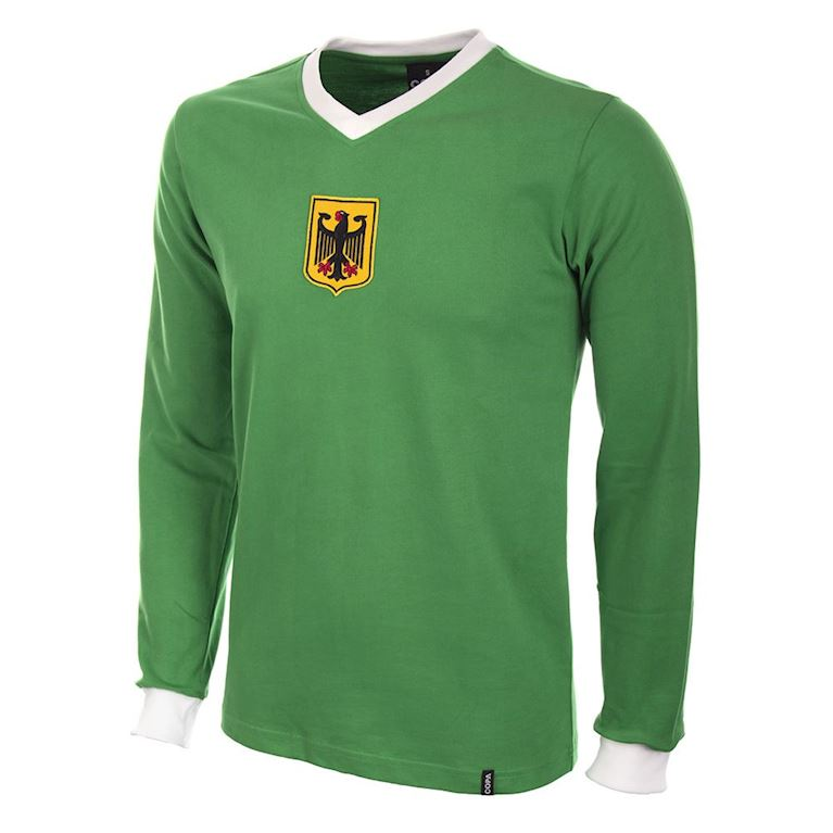 632 | Germany Away 1970's Long Sleeve Retro Football Shirt  | 1 | COPA