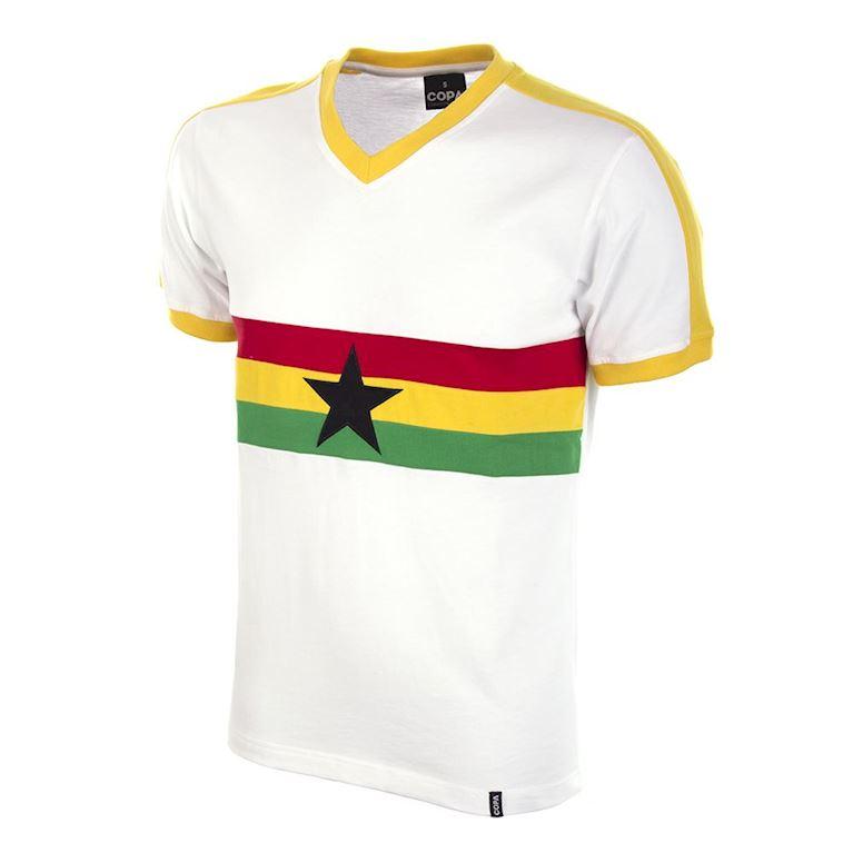 687 | Ghana 1980's Short Sleeve Retro Football Shirt | 1 | COPA