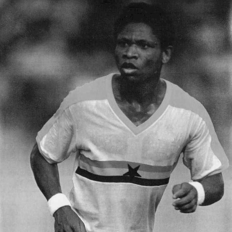 687 | Ghana 1980's Short Sleeve Retro Football Shirt | 2 | COPA