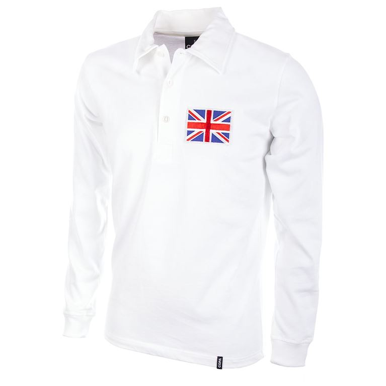 122 | Great Britain 1908 Long Sleeve Retro Football Shirt | 1 | COPA